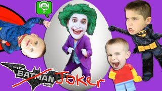 Lego Batman Video Game and Surprise Egg with HobbyKidsGaming!