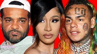 Cardi B and Jim Jones may be in trouble because of Tekashi 6ix9ine