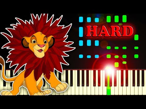 I Just Can't Wait To Be King (from The Lion King) - Piano Tutorial