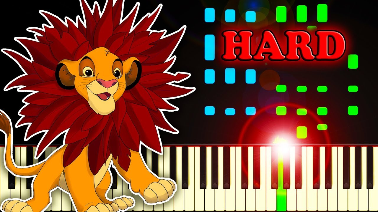 Download I Just Can't Wait To Be King (from The Lion King) - Piano Tutorial