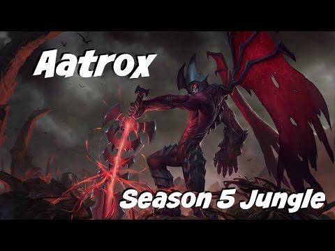 League of Legends: A-atrox Jungle Season 5
