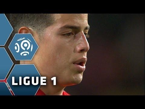 2 goals for James Rodriguez in Monaco vs Nantes (3-1) - 2013/2014