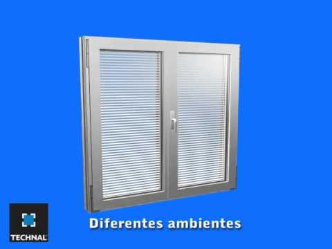 la ventana con proteccin solar integrada unicity plus technal