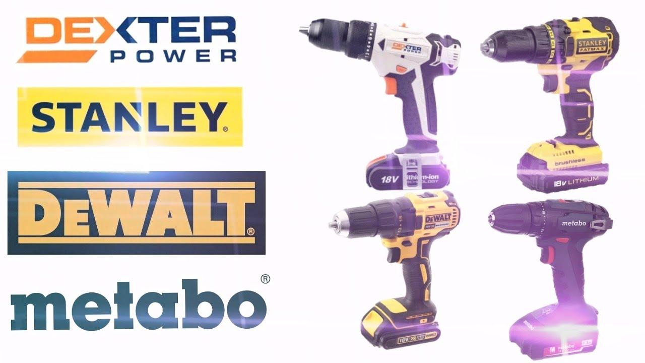 4 Top Brands In Leroy Merlin Dewalt Metabo Dexter Power And Stanley Fatmax