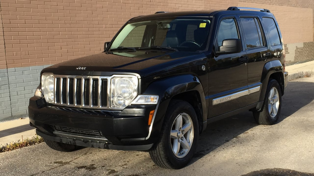 2009 jeep liberty limited edition 4wd - leather heated seats