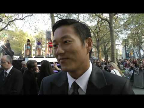 Sung Kang Interview - Fast and Furious 6 World Premiere