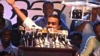 Wimal Weerawansa Speech 2015.03.06 Dewana Jathika Reliya - Kandy part 02