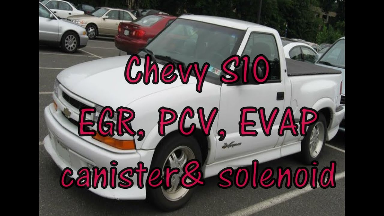 chevy s10 emissions pcv valve egr valve evap canister purge solenoid sonoma hombre  [ 1280 x 720 Pixel ]