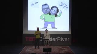 The odd logic of collaboration: Robbi Behr and Matthew Swanson at TEDxChesterRiver
