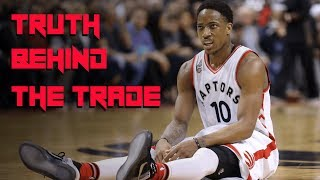 The REAL Reason DeMar was Traded - Why the Raptors Moved Their STAR