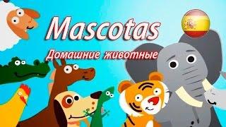 Развивающий мультик учим домашних животных на испанском. Mascotas