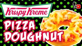 Krispy Kreme Pizza Doughnuts - Man Vs Youtube #19