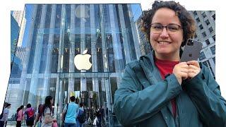 Duas Apple Store em Nova Iorque e o iPhone 11 Pro - Vlog e unboxing