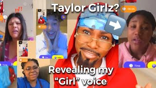 "REVEALING MY ""GIRL"" voice (they were sh00k)🥴 Travis edition"