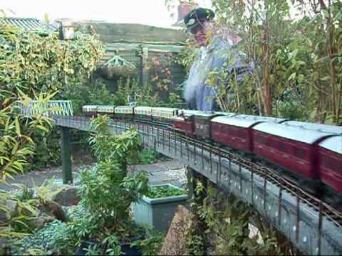 GWR gauge one garden railway - YouTube
