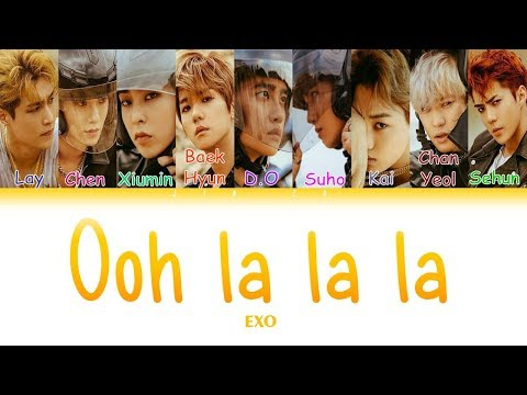 "EXO ""OOH LA LA LA"" (Sub indo) Lirik {Color Coded-Rom-Ind}"