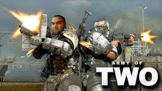 [18+] Шон и Даша играют в Army of Two (Xbox 360/Xbox One X, 2008)