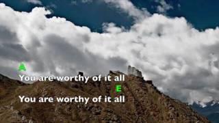 Worthy Of It All & I Exalt Thee (lyrics & chords) Kalley Heiligenthal (Bethel Music)