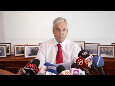 Declaración Ex Presidente Sebastián Piñera ante campaña de falsedades