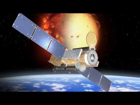 WAIT...    Is that what I think it is ???  LASER SATELLITE on Mission ~ ORBITING THE SUN ???