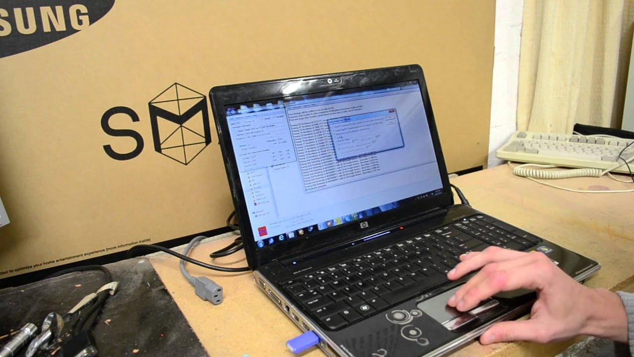 hp dv6 overheating laptop repair youtube. Black Bedroom Furniture Sets. Home Design Ideas
