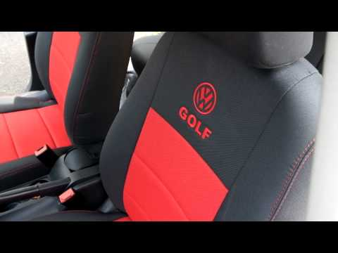 vw golf vi 2010 sitzbez ge youtube. Black Bedroom Furniture Sets. Home Design Ideas