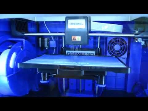 "Watch: 3D Printer ""Dremel Idea Builder 3D40"" in Action"