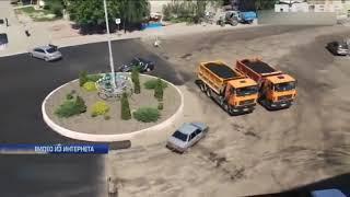Погоня со стрельбой: в Киевской области молодая девушка пыталась скрыться от полиции (видео)