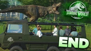 T.Rex goes Walkies + Giveaway Results!!! - Jurassic World Evolution - Claire's Sanctuary | End HD
