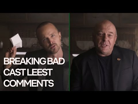 Breaking Bad Cast Reageert Op El Camino Trailer Comments | Netflix