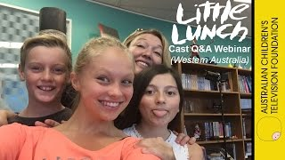 Little Lunch Cast Q&A Webinar – W.A Primary Schools