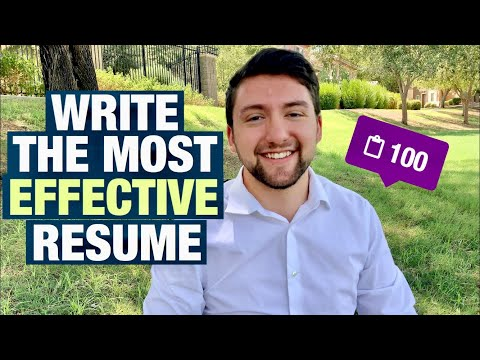 How To Write An Engineering Resume