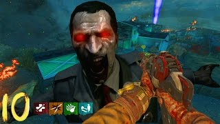 NUKETOWN NO QUICK REVIVE WORLD RECORD ATTEMPT!!! - BLACK OPS 2 ZOMBIES GAMEPLAY