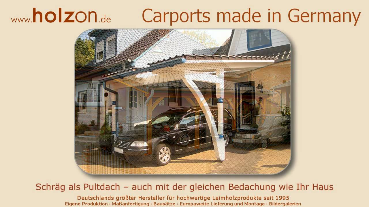carport selber bauen modelle z b doppelcarport modern. Black Bedroom Furniture Sets. Home Design Ideas