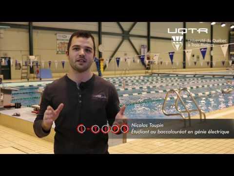 La technologie au service du sport - Nicolas Toupin - Université du Québec à Trois-Rivières