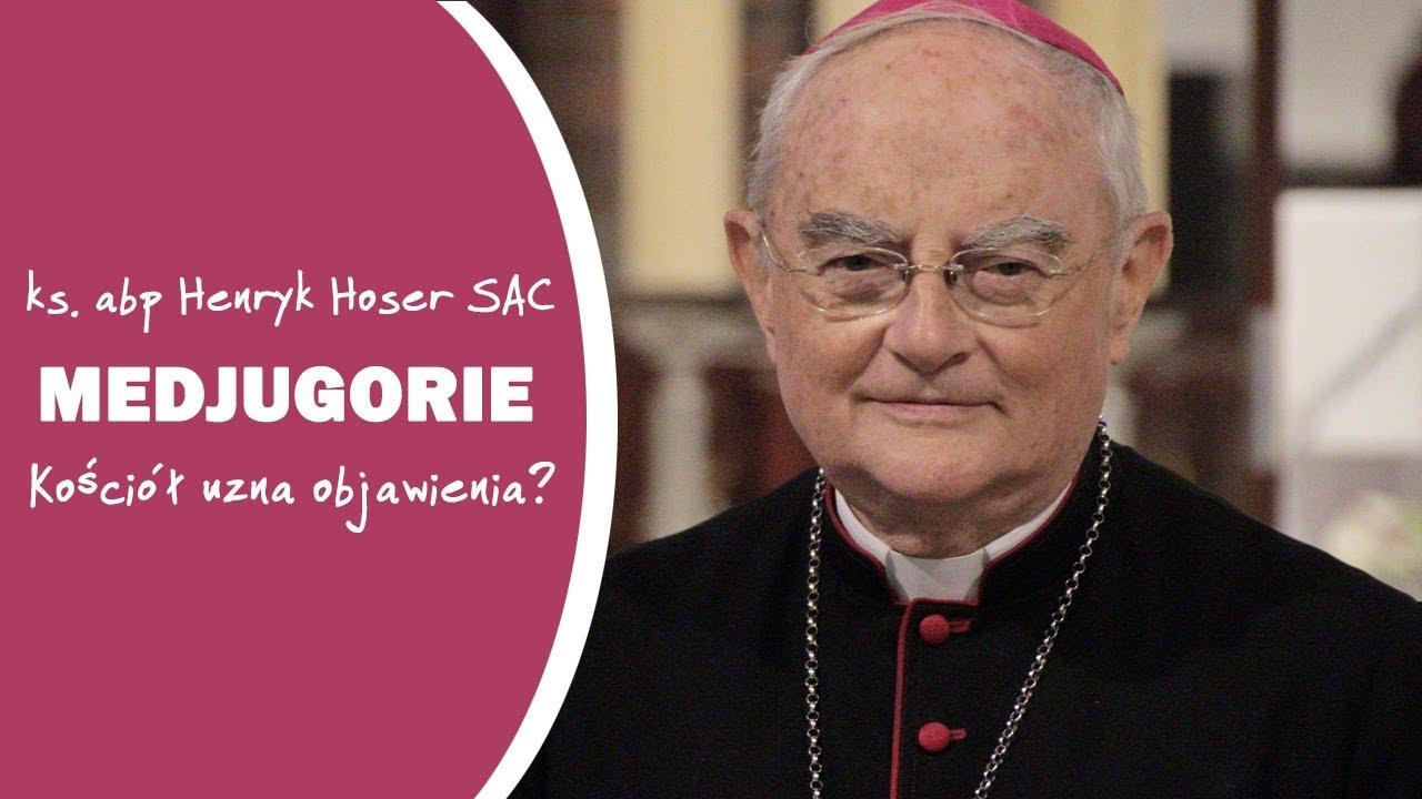 Kościół uzna objawienia w Medjugorie? – ks. abp Henryk Hoser SAC