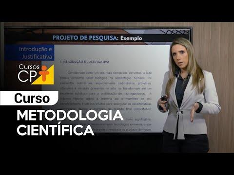 Clique e veja o vídeo Curso Metodologia Científica