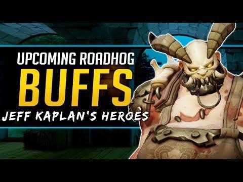 Overwatch Roadhog Buffs Soon - Jeff Kaplan Most Played Heroes!
