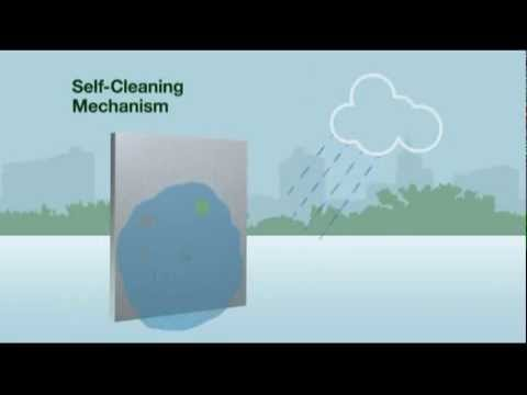 Vật liệu xanh giúp làm sạch không khí xung quanh