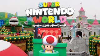 Super Nintendo World [Vlog] en 4K - El primer tour en Español (Español/English CC)