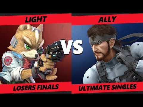 Crown 2019 SSBU - Ally (Snake) Vs. Rogue | Light (Fox) Smash Ultimate Tournament Losers Finals