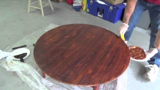 Mersman Mid Century Table Refinish Part 1
