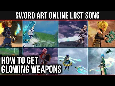 Sword art online lost song swords