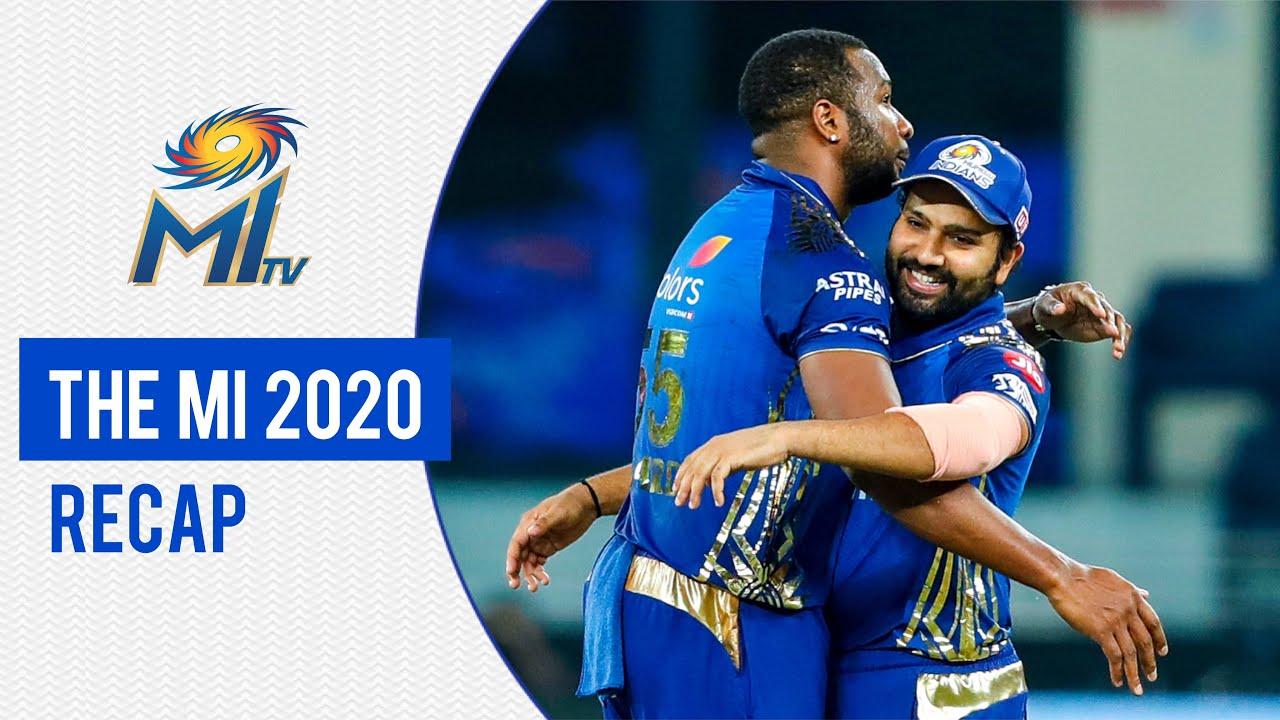 The MI 2020 Recap | टीम के साल का रीकैप | Mumbai Indians