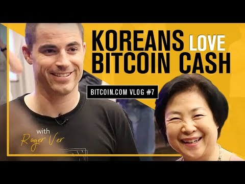 Korean Business Adopt Bitcoin Cash & Drop Bitcoin Core (BTC) - Roger Ver Vlog 7