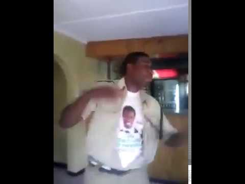 Zambia Police Officer Drunk And Dancing