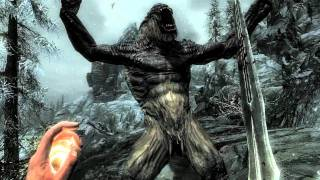 Trailer officiel The Elder Scrolls V: Skyrim