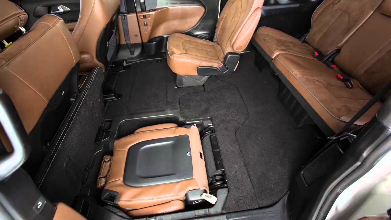stow n go fold seats for more cargo space in 2017 chrysler pacifica youtube. Black Bedroom Furniture Sets. Home Design Ideas