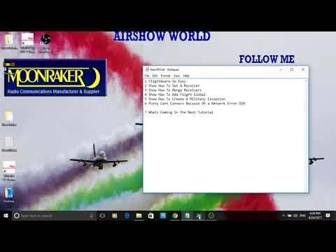 How To Make An ADS-B Virtual Radar Server P7