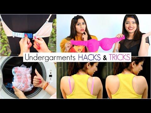 9 LIFE Saving UNDER GARMENTS Hacks for Girls .. |. http://bit.ly/2MFPP4N